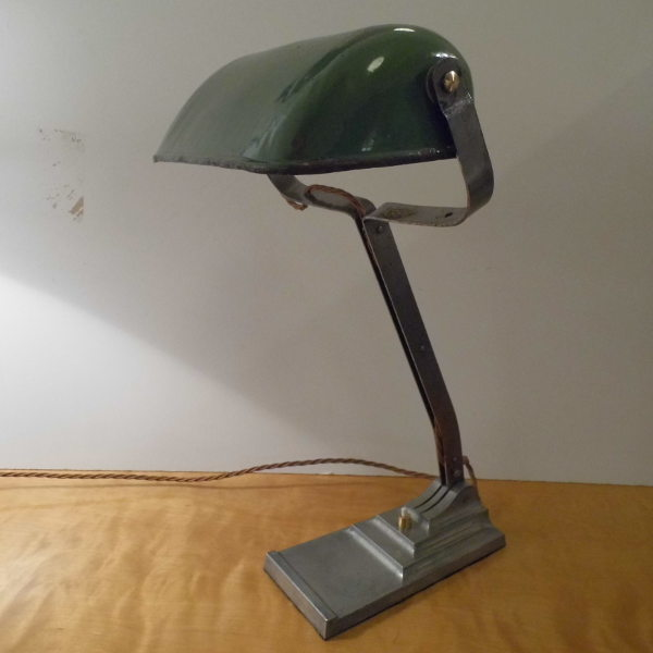 - Vintage Industrial Desk Lamp - Travers Antiques