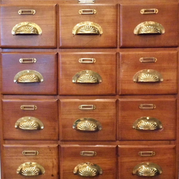 Vintage Bank Of Drawers Travers Antiques